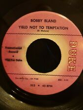 More details for northern soul / r&b, bobby bland, yield not to temptation,  duke promo, vg+