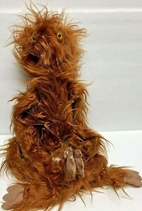 Vintage Superior Toys Novelty Long Full Body Animal Monster Puppet Brown Hand