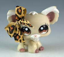 Littlest Pet Shop Chihuahua #1199 Cream and White With Brown Eyes
