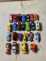 Vintage Lot Of 24 Hot Wheels Cars And Matchbox Variety