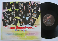"""12"""" Charles Wilp – Miss Supertype - mint- Marvin Martin Jeff Lynne Bunny"""