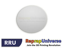 Ø 290 mm Round Fireproof Boro Glass Plate for Delta / Rostock Reprap 3D Printers