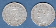 Charles X , 1824 - 1830 - 2nd Type d'effigie - (2) 5 Francs 1828 D Lyon TB TTB