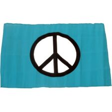 Small 12 Inch X 20 Inch Replacement Flag For Whip Antenna Peace Sign