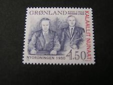 GREENLAND, SCOTT # 335 ,COMPLETE SINGLE SET 1998 NEW ORDER ISSUE MNH