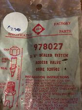 WHIRLPOOL 978027 SOLDER ON STYLE SEAL SYSTEM 3/8 O.D. SERVICE VALVE NEW OEM!
