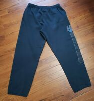 VTG Harley Davidson Sweatpants 1998 Men's Large Black Joggers Super Sweats 90's
