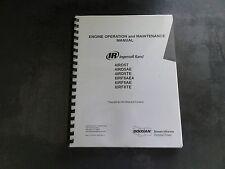 Ingersoll Rand 4IRD5T 4IRD5AE 4IRD5TE 6IRF8AE4 6IRF8AE 6IRF8TE Operation Manual