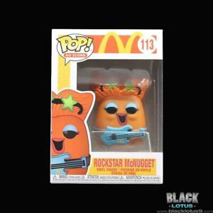 Funko Pop! Rockstar McNugget McDonalds McDonald's Nugget Ad Ico Pop IN STOCK 113