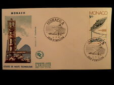 MONACO PREMIER JOUR FDC YVERT  1403     LES HAUTES TECHNOLOGIES      5F     1983