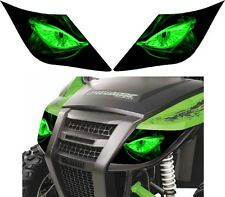 ARCTIC CAT headlight decal sticker 700  TRAIL XT  WILDCAT wild trail XT 4x4 eyes