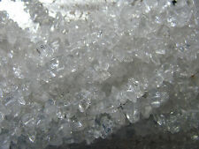 Clear Quartz Gemstone Beads Chips Jewelry Findings 12 inch Strand