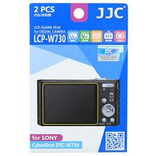 JJC LCPW730 LCD Film Camera Screen Display Protector for SONY CyberShot DSC-W730