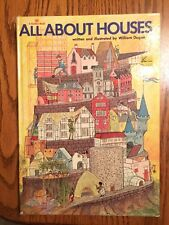 ALL ABOUT HOUSES - William Dugan - 1975 Golden Book