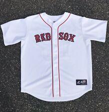 Boston Red Sox Dustin Pedroia Jersey Majestic MLB Genuine Merchandise Mens XL