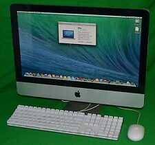 "Apple iMac (Mid 2010) 3.06Ghz Core i3, 21.5"" Display, 8GB RAM *Used* MC508LL/A"