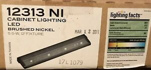 Kichler 12313NI LED 24V 12 inch Brushed Nickel Cabinet Light