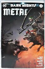 💥 Dark Nights Metal #1 Mattina Color Variant Nm+ Batman Who Laughs Greg Capullo