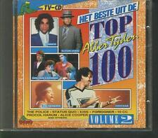 HET BESTE UIT DE TOP 100 ALLERTIJDEN V2 1989 CD PRINCE KISS ALICE COOPER KISS