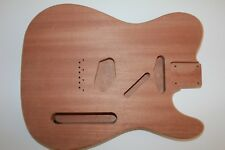 Tele Telecaster Body Korpus 2 x SC Sapeli Mahagoni Gitarrenbau made in Germany