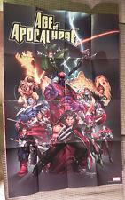 "Age of Apocalypse Folded Poster 36"" x 24"" Marvel Mark Brooks X-men/Wolverine"