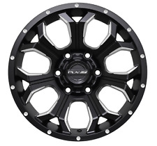 "17"" PDW WARLOAD TOUGH BLK MLD WHEEL TO SUIT 4X4HOLDEN FORD TOYOTA $299"