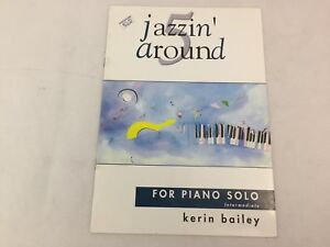 Jazzin Around 5 - Piano - Book Only - Kerin Bailey - For Piano Solo - (A)
