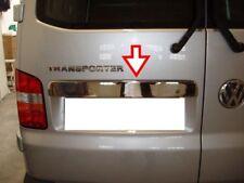 2003-2014 VW T5 Multivan Chrome Coffre Arrière Couvercle Couverture S. Steel (double porte)