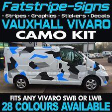 Vauxhall Vivaro mk2 Graphics stickers bande Décalques Camper Van Swb Lwb l1 l2
