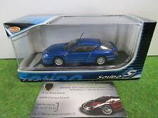 RENAULT ALPINE A610 de 1991 bleu au 1/43 SOLIDO 421432090 voiture miniature
