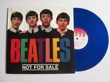 THE BEATLES Not For Sale LP BLUE VINYL NEMS RARE DEMO & ALTERNATE TAKES