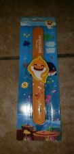 PINKFONG BABY SHARK Orange SLAP BAND BRACELET NEW from official Song Toy