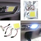 48 SMD COB LED T10 White Light Car Interior Panel Lights Dome Lamp Bulb New