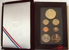 The 1992 U.S.Olympic Coins Prestige Ensemble De , 7 Certifié US Mint. Avec Case
