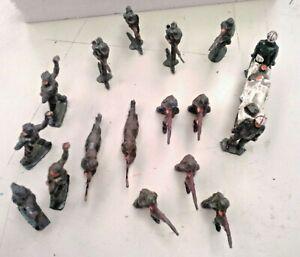 Vintage Lead Toy Soldiers x 18