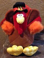 THANKSGIVING Plush TURKEY with PILGRIM HAT