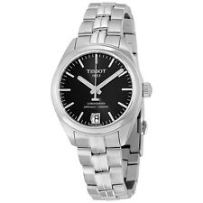 Tissot PR 100 Automatic Black Dial Ladies Watch T101.208.11.051.00