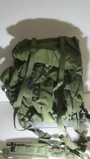 ARMY MILITARY issued troop backpack with frame desert storm Vietnam field pack