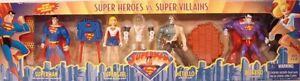Superman Animated Series Super Heroes Vs Villains Supergirl Bizarro Metallo Gift