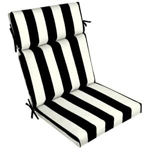 Outdoor Chair Cushion 44 x 21 in. with EnviroGuard for Patio, Deck, Yard, Garden