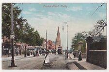 London Road, Derby Postcard, B652
