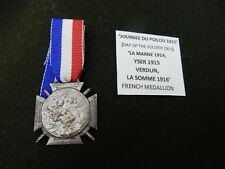 COMMEMORATIVE MEDALLION WW1 POILOU MEDAL   SINGLE ITEM FRANCE FRENCH