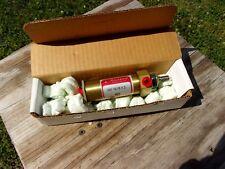 "Allenair Pneumatic Air Cylinder SM 1 1/8"" Bore 2"" Stroke 5/16"" Shaft Brass #84"