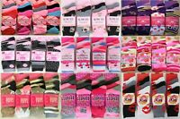 6 Pairs Designer Ladies Women's Bright Colour Print Style Girls Socks Adult Size