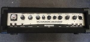 Behringer BX4500H bass guitar amplifier head, pre owned, fully working