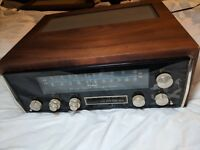 MCINTOSH MX-112 PREAMP & AM FM TUNER W/Walnut Wood Cabinet MX112 Located in Ct