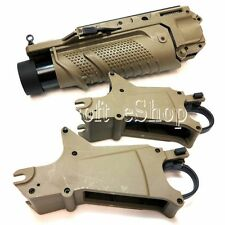 Airsoft EGLM 40mm SCAR Grenade Launcher Dark Earth