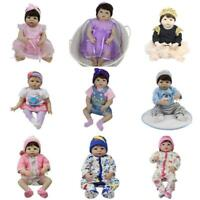 22''-23'' Baby Dolls Clothes Romper Simulation Doll Outfit Dress for Reborn Girl