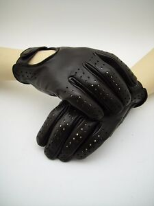 "NEW ""SEBRING"" Classic Men's Leather Classic Car Driving Gloves Racing Vintage"