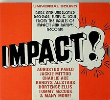 Impact! Rare Unreleased Reggae/Funk Soul CD Tommy McCook/Charlie Ace/The Psalms